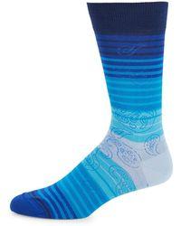 Bugatchi - Paisley Print Sock - Lyst