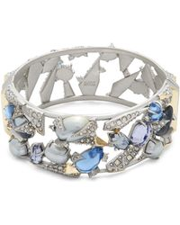 Alexis Bittar - Multi-crystal Bangle Bracelet - Lyst