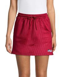 Fila Papaya Skirt - Red