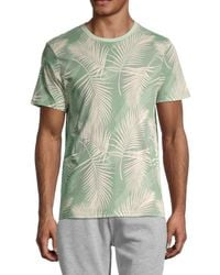 Sovereign Code Conway Leaf-print T-shirt - Green