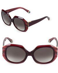 Zac Posen - Ingrid 52mm Square Sunglasses - Lyst