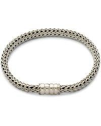John Hardy Sterling Silver Women Chain Bracelet - Metallic