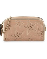 RED Valentino - Mini Perforated Star Leather Crossbody Bag - Lyst