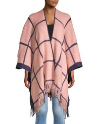 Vince Camuto - Open-front Fringe Poncho - Lyst
