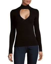 360cashmere - Evelina Front Cutout Jumper - Lyst