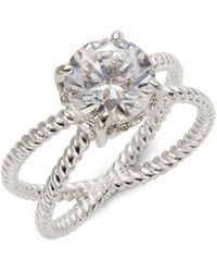 Saks Fifth Avenue | Round Rope Split Shank Solitaire Ring | Lyst