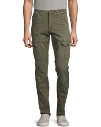 PRPS Classic Stretch Cargo Pants - Green