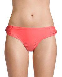 6 Shore Road By Pooja - Gathered Bikini Bottom - Lyst