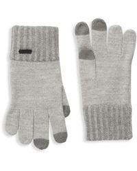 BOSS by HUGO BOSS Gritzo Wool-blend Gloves - Grey