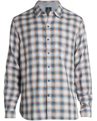 John Varvatos Neil Long-sleeve Reversible Shirt - Multicolour