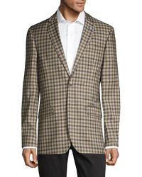 Ben Sherman Standard-fit Chequered Sportcoat - Multicolour