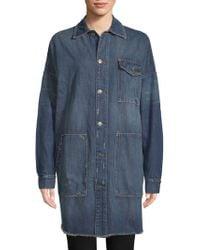 Etienne Marcel - Oversized Denim Jacket - Lyst
