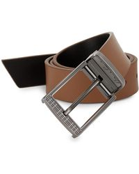Robert Graham - Terdal Leather Belt - Lyst