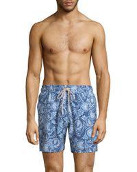 Faherty Brand | Beacon Cresent Swim Trunks | Lyst