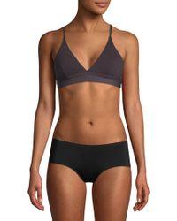 Skin Organic - Crisscross Pullover Bralette - Lyst