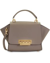 Zac Zac Posen Eartha Leather Top Handle Crossbody Bag - Multicolour