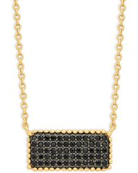 Adriana Orsini 14k White Gold & Diamond Pendant Necklace - Multicolour
