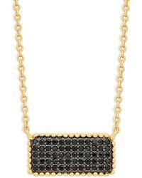 Nephora 14k White Gold & Diamond Pendant Necklace - Multicolor
