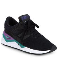 New Balance - X90 Round Toe Sneakers - Lyst