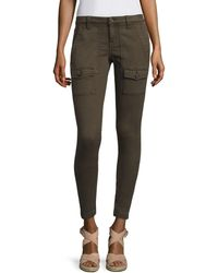 Joie So Real Skinny Cargo Trousers - Blue