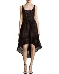 Rene Ruiz - Embellished Hi-lo Dress - Lyst