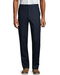 Vince James Classic-fit Chino Trousers - Black