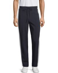 Valentino - Panelled Drawstring Trousers - Lyst