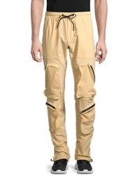 American Stitch - Men's Water Zip Pocket Joggers - Orange - Size S - Lyst