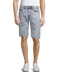Buffalo David Bitton - Dean Straight Denim Shorts - Lyst
