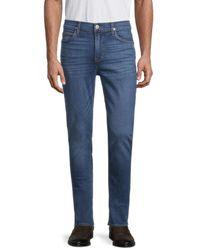 Hudson Jeans Men's Slim-fit Straight Jeans - Show Time - Size 30 - Blue