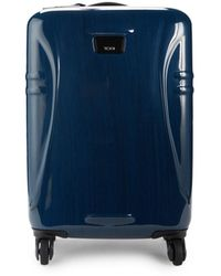 Tumi International 21.5-inch Carry-on Spinner Suitcase - Blue