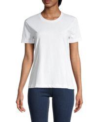 Armani Jeans Tonal Logo T-shirt - White
