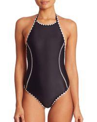 Same Swim - One-piece Hour Glass Swimsuit - Lyst