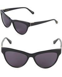 Zac Posen - Farrow 55mm Butterfly Sunglasses - Lyst