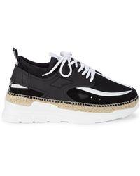 KENZO Espadrille Wedge Sneakers - Black