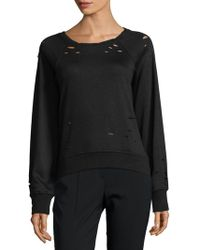 PPLA - Ares Knit Hole Jumper - Lyst