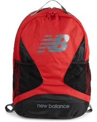 New Balance Men's Players Logo Backpack - Team Red