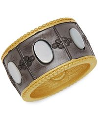 Freida Rothman 14k Goldplated Sterling Silver & Mother-of-pearl Imperial Ring - Multicolor
