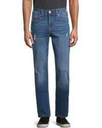 True Religion Geno Relaxed Slim-fit Jeans - Blue