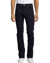 Bugatchi - Basic Buttoned Casual Trousers - Lyst