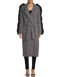 Mother Of Pearl - Bexley Textured Wrap Coat - Lyst