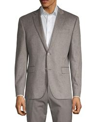 Saks Fifth Avenue Standard-fit Cashmere Sportcoat - Metallic