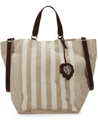Tommy Bahama - Reef Stripe Convertible Tote - Lyst