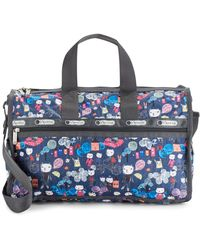 LeSportsac Medium Weekender Bag - Blue