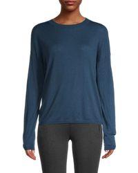 Vince - Women's Crewneck Wool-blend Pullover - Terrace Blue - Size M - Lyst