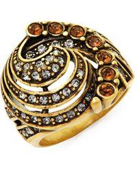 Heidi Daus - Swarovski Crystal Object De Art Cocktail Ring - Lyst