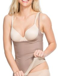 Spanx - Two-timing Open-bust Shaper Camisole - Lyst