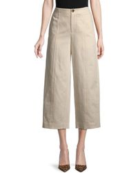 Vince Women's High-waist Utility Pants - Flax - Size 0 - Natural