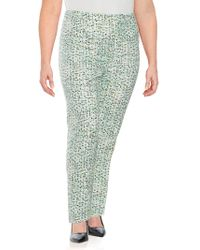 Carolina Herrera - Printed Slim Pants - Lyst