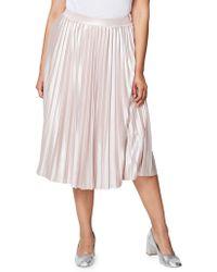 Rachel Roy - Accordion-pleated Skirt - Lyst
